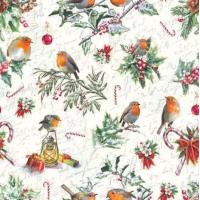 Guardanapo Christmas Ornaments - 2 unid..