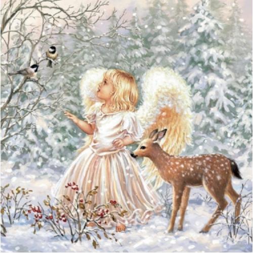 Guardanapo Winter Angel - 2 unid