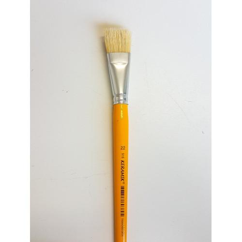 Pincel Keramik Chato Cerda Branca 916 - Tam. 22
