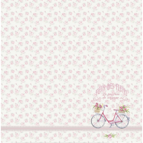 Papel 180g Provence 1 - Dupla face 30,5 x 30,5 cm