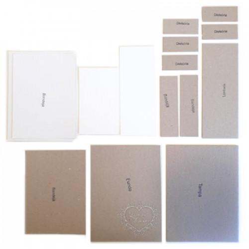 Kit Cartonagem Caixa Lysandra