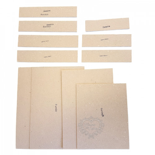 Kit Cartonagem Caixa Isabela
