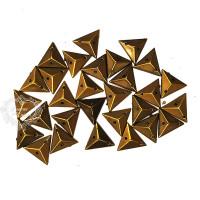 Chaton Para Costura Triângulo Spike 12mm..