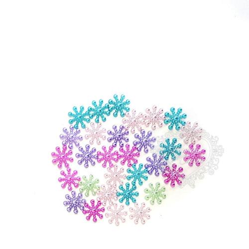 Floco de Neve Perolado 14mm Colorido - 5g