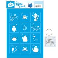 Stencil Mini Coffee - 17x21..