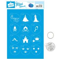 Stencil Mini Princesa ..