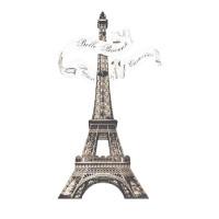 Aplique em Papel e MDF - Torre Eiffel..