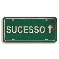 sucesso - aplique adesivado - 8x4cm..
