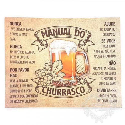 DECOR HOME - Manual do Churrasco
