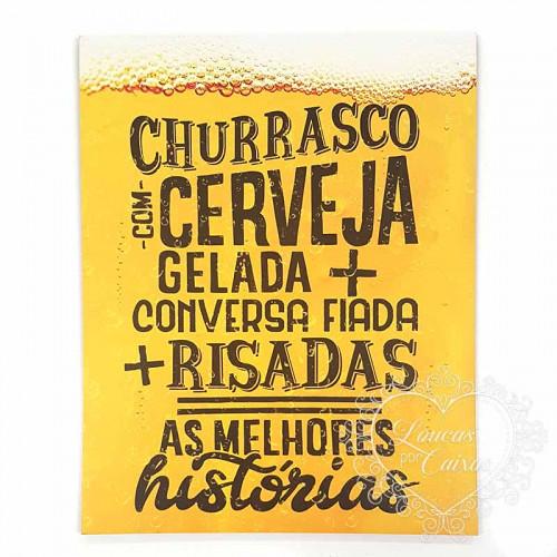 DECOR HOME - Churrasco com cerveja gelada...