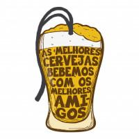 DECOR HOME TAG 2 - Copo cerveja...  7x12..