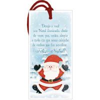DECOR HOME NATAL - Tag Papai Noel, Desej..