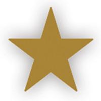 Lacre Estrela Ouro 1 cm..