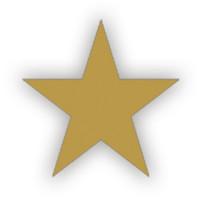 Lacre Estrela Ouro 2 cm..