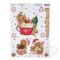 Transfer natalino - Biscoito Ginger..