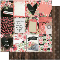 Papel Scrap Amor Love Story Tags  - Vers..