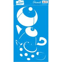 Stencil Bule de poás - Sobreposição - 21..