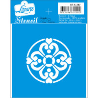 Stencil Mandala 4 - 10x10..