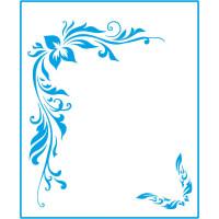 Stencil Cantoneira - 17x21 - stm-056..