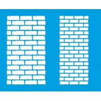 Stencil tijolos médios 17,2x21,1..
