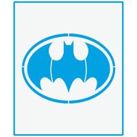 Stencil Super Herói Batman - 17x21..
