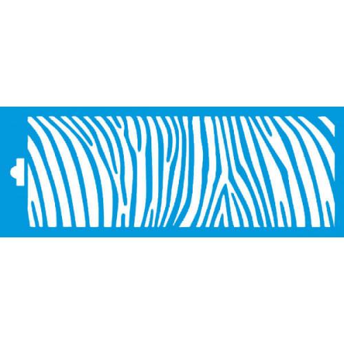 Stencil estampa zebra P 17x6,5