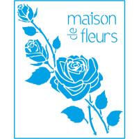 Stencil Rosas Maison - 20x25 cm..