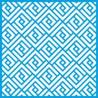 Stencil Estampa Geométrica Quadrangular ..