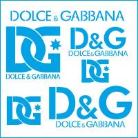 Stencil Dolce & Gabbana - 20x20..