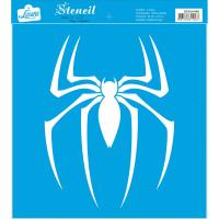 Stencil Super herói aranha - 25x25 cm..