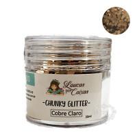 Chunky Glitter Loucas por Caixas - Cobre..