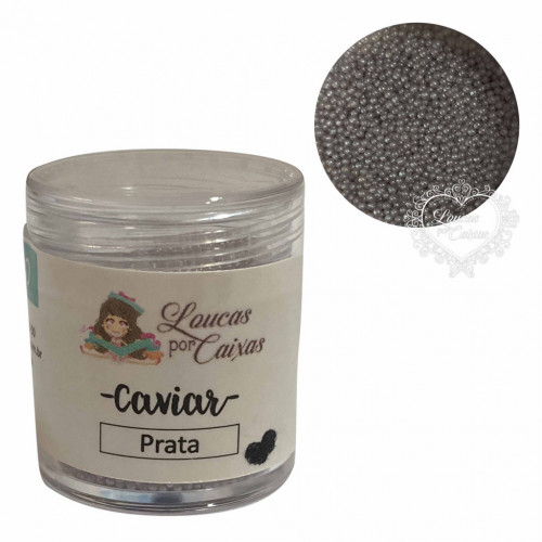 Micro Caviar Prata Loucas por caixas