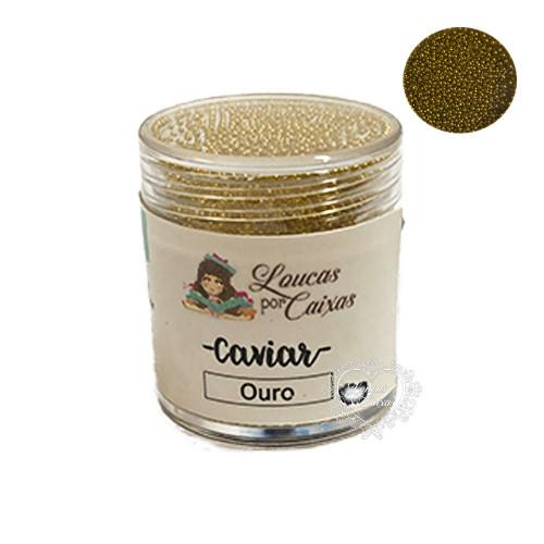Micro Caviar Loucas Por Caixas - Ouro