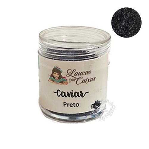 Micro Caviar Loucas Por Caixas - Preto Azulado