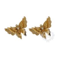 Kit com 2 borboletas rendadas filigrana ..