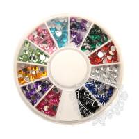Kit Mini Chatons - Colorido - 3mm..