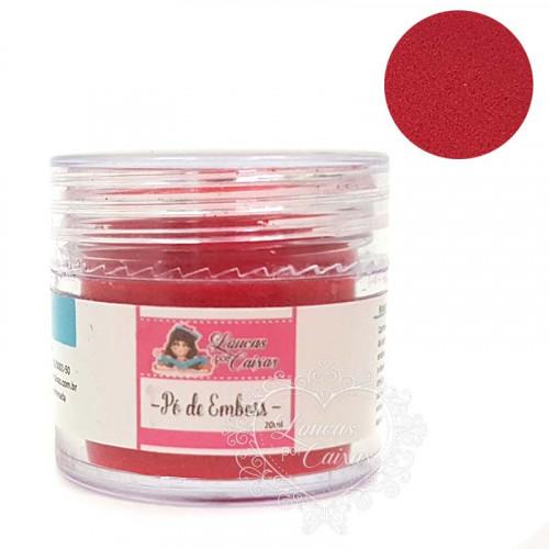 Pó para emboss Vermelho Loucas por Caixas - 20ml