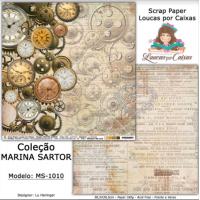 Scrap Paper Dupla Face 30,5x30,5cm MS-10..