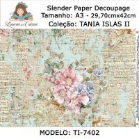 Slender Paper Decoupage A3 TI-7402 - Lou..
