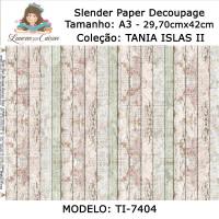 Slender Paper Decoupage A3 TI-7404 - Lou..