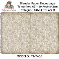 Slender Paper Decoupage A3 TI-7406 - Lou..