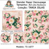 Slender Paper Decoupage A3 TI-1677 - Lou..