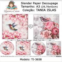 Slender Paper Decoupage A3 TI-3658 - Lou..