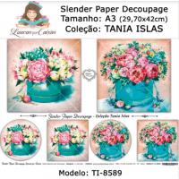 Slender Paper Decoupage A3 TI-8589 - Lou..