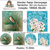 Slender Paper Decoupage A3 TI-9956 - Lou..