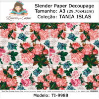 Slender Paper Decoupage A3 TI-9988 - Lou..