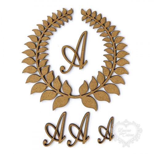 Coroa De Louros Letras Não Inclusas - G