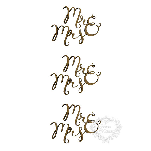 Mr & Mrs - 3 unidades