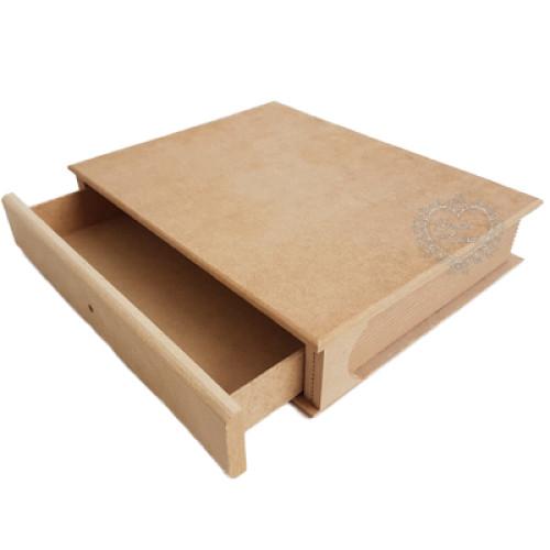 Caixa Livro Gaveta M 21x26,5x5