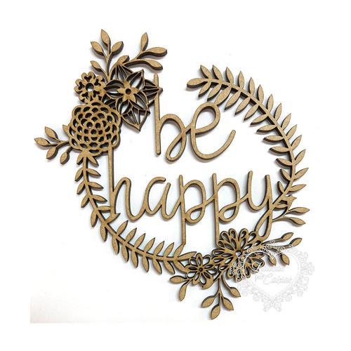 Be Happy Guirlanda - M
